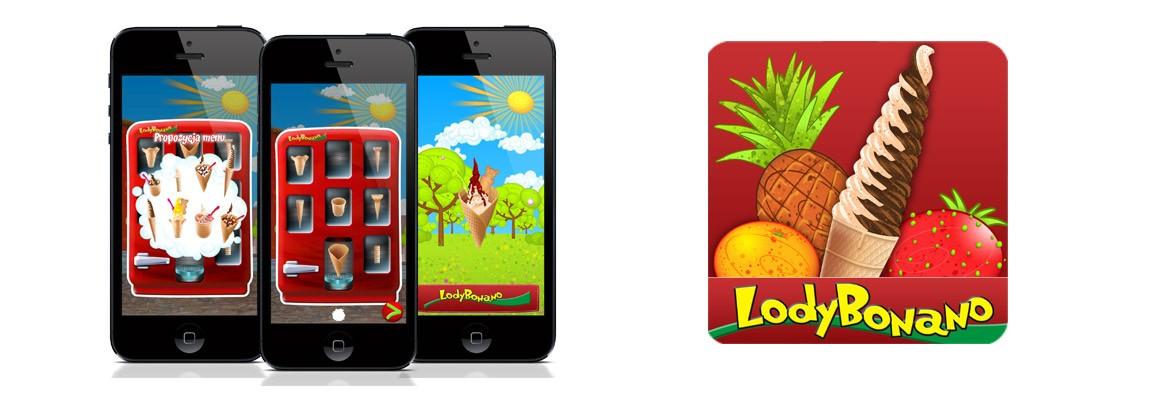 Gra mobilna Lody Bonano jest już dostępna do pobrania na urządzenia